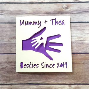 Personalised Mothers Day Card, Mommy Card, 1st Mother's Day, Besties, Happy Mother's Day, Mummy Birthday, Card from Baby, Mom Mother's Day